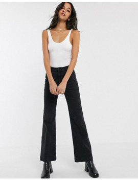 Topshop Tall 2 Pack Bodies In Black And White by Topshop