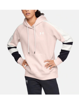 Ua Rival Fleece Lc Logo Women's Hoodie by Under Armour