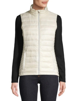 Full Zip Puffer Vest by Core Life