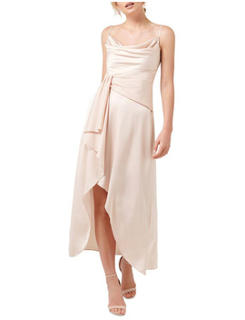 Dove Cowl Neck Wrap Dress by Forever New