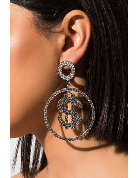 Dolla Bill Earring by Akira