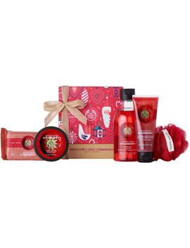 Irresistibly Juicy Strawberry Festive Picks by The Body Shop