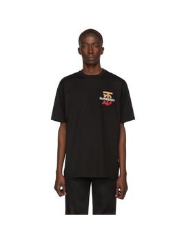 Black Gately T Shirt by Burberry