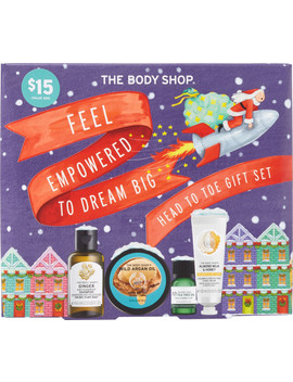 Feel Empowered To Dream Big Head To Toe Gift Set by The Body Shop