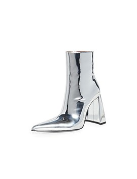 A Heel Pvc Boots by Area