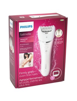 Philips Satinelle Wet/Dry Epilator   White   Bre610/00 by Philips