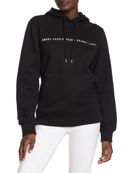 Smart People Knit Hoodie by Helmut Lang