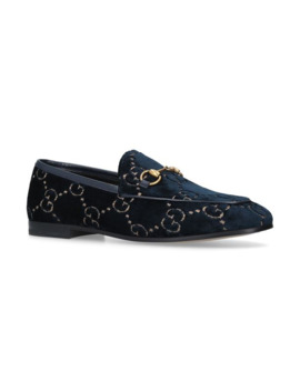 Velvet Gg Jordaan Loafers by Gucci