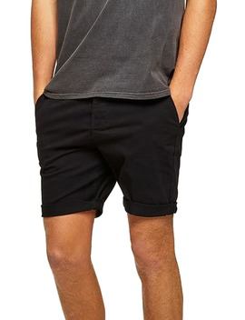 Skinny Fit Chino Shorts by Topman