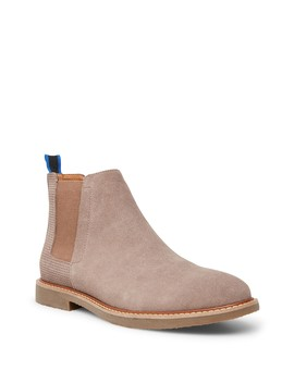 Hilow Suede Chelsea Boot by Steve Madden