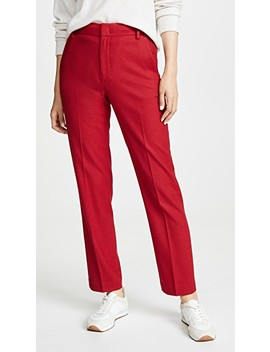 Flannel Tailored Pants by Vince
