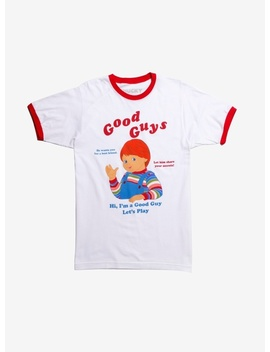 Child's Play Chucky Good Guys Ringer T Shirt by Wish