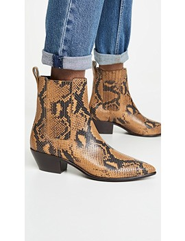Aylin Low Western Booties With Gore by Loeffler Randall