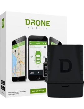 Smartphone Vehicle Control And Gps Tracking System Add On Module   Black/Grey by Drone Mobile