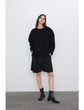 Oversize Pullover Pullover Strickwaren Damen by Zara
