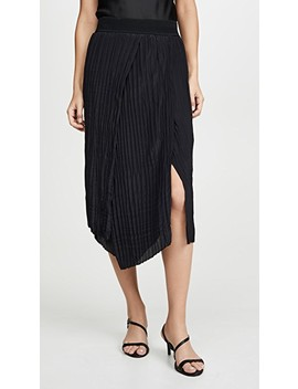 Crinkle Pleated Skirt by Vince