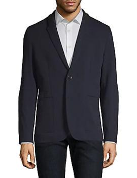Joey Contrast Lapel Jacket by Hugo