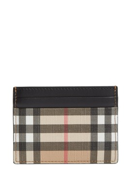 Sandon Vintage Check Card Case by Burberry