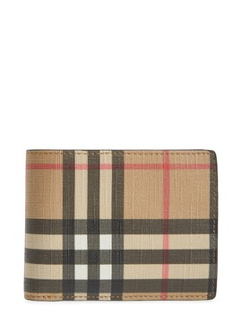Vintage Check Wallet by Burberry