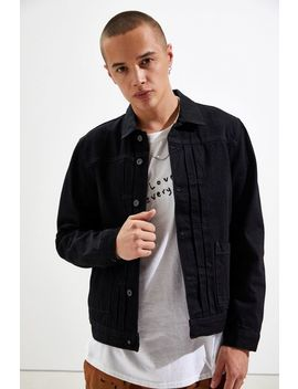 Levi's Made & Crafted Type Ii Worn Denim Trucker Jacket by Levi's