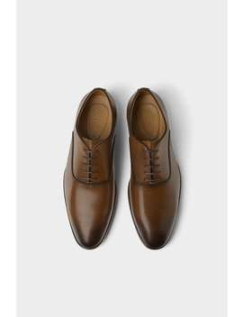 Chaussures HabillÉes Marron by Zara