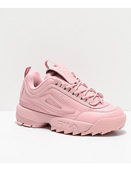 Fila Disruptor Ii Autumn Pink Shoes by Fila