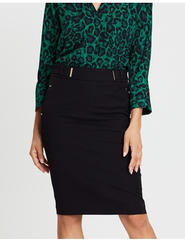 Repeat Pencil Skirt by Wallis