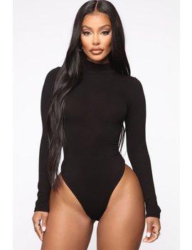 Dana Bodysuit   Black by Fashion Nova
