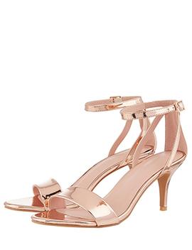Scarlett Strappy Mirror Heeled Sandals by Monsoon