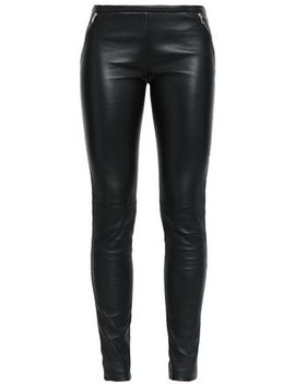 Leather Skinny Pants by Emilio Pucci