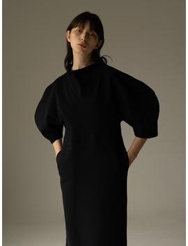 Rowe Comfortable Dress  Dark Navy / White by Rowe