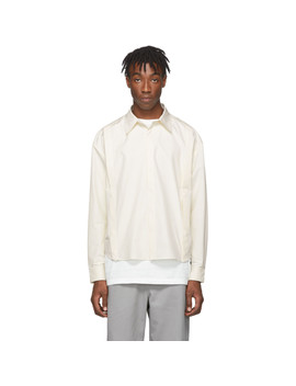 White 2.0 Center Shirt by Post Archive Faction