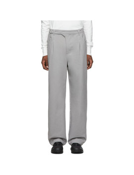 Grey 2.0 Right Trousers by Post Archive Faction