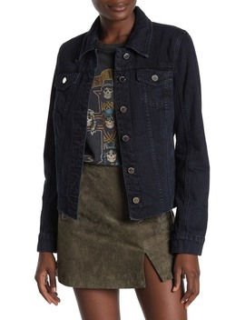 Cutoff Fitted Denim Jacket by Blanknyc Denim