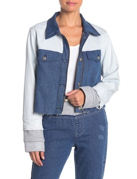 Colorblock Denim Jacket by Kendall & Kylie