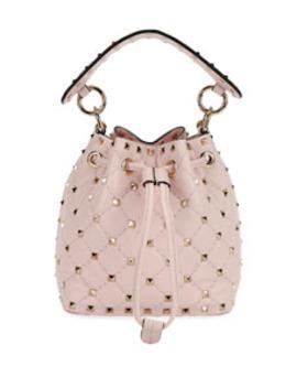 Rockstud Spike Mini Bucket Bag by Valentino Garavani