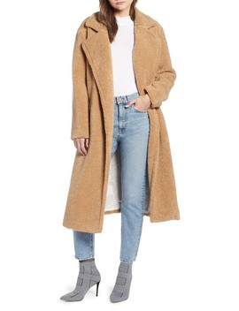 Teddy Faux Fur Coat (Nordstrom Exclusive) by Something Navy