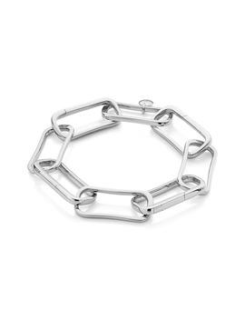 Alta Capture Large Link Bracelet by Monica Vinader
