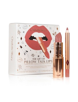 The Gift Of Pillow Talk Lips Duo by Charlotte Tilbury