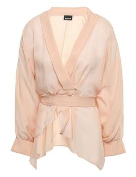 Wrap Effect Georgette Blouse by Just Cavalli