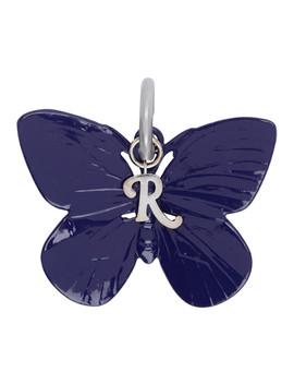Blue Butterfly Charm Keychain by Raf Simons