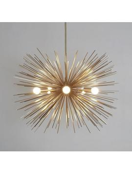 Mid Century Modern Starburst Chandelier Sputnik Ceiling Lamp Light by Etsy