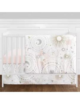 Sweet Jojo Designs® Celestial 4 Piece Crib Bedding Set In Blush/Gold by Sweet Jojo Designs
