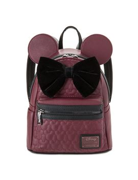 Minnie Mouse Quilted Mini Backpack By Loungefly | Shop Disney by Disney