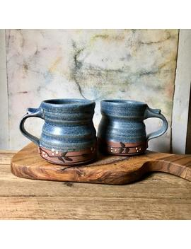 Pottery Mugs by Etsy