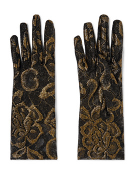 Handschuhe Aus Besticktem Tüll by Gucci