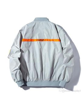 Brand New Nasa Flight Pilot Mens Designer Jackets Casual Ma1 Bomber Jacket Autumn Letter Printed Windbreaker Mens Outerwear by D Hgate.Com