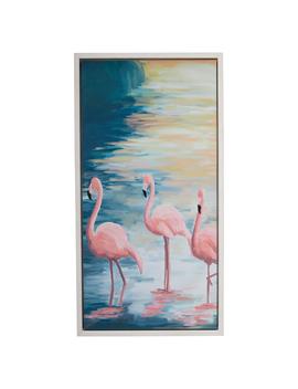 "Flamingo Lake White 22""X42"" Frame By Drew Barrymore Flower Home by Drew Barrymore Flower Home"