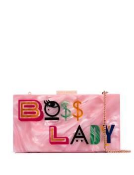 Boss Lady Clutch Bag by Sophia Webster