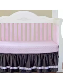 Go Mama Go® Designs Crib Bedding Collection In Chocolate/Pink by Go Mama Go Designs